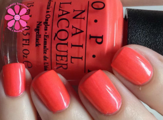 Opi Neons Collection Summer 2014 Swatches Review Cosmetic Sanctuary
