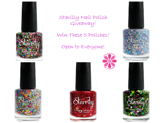 Starrily Nail Polish Giveaway - Cosmetic Sanctuary