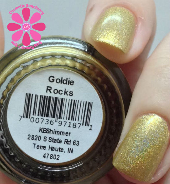 Goldie Rocks CU