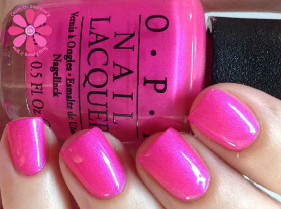 OPI Neons Collection Summer 2014 Swatches & Review - Cosmetic Sanctuary