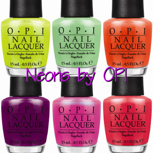 Press Release: Neons by OPI