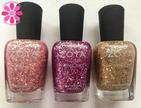 Zoya Magical PixieDusts Summer 2014 Swatches, Review & Giveaway