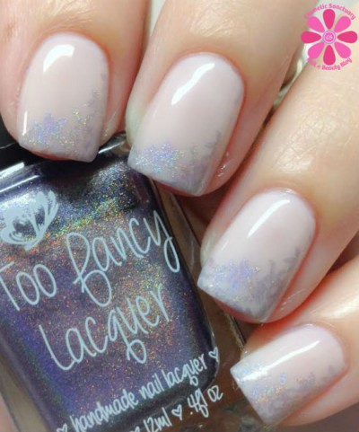 Soft Holographic Stamping with OPI and Too Fancy Lacquer