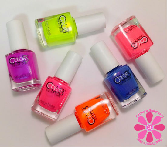 Color Club Poptastic Collection Swatches & Review