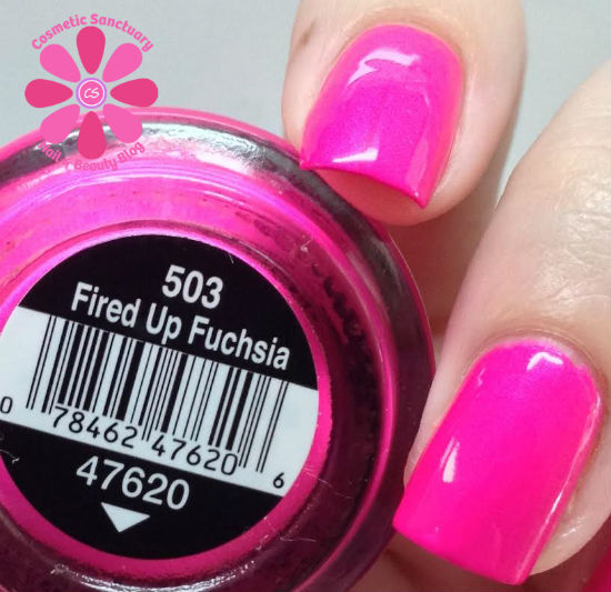 Fired Up Fuchsia CU
