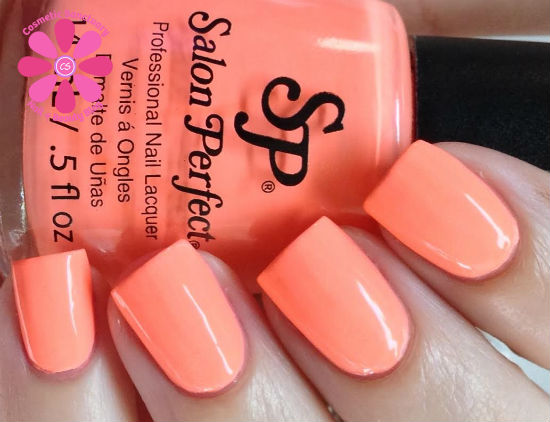 Salon Perfect Neon POP Swatches & Review