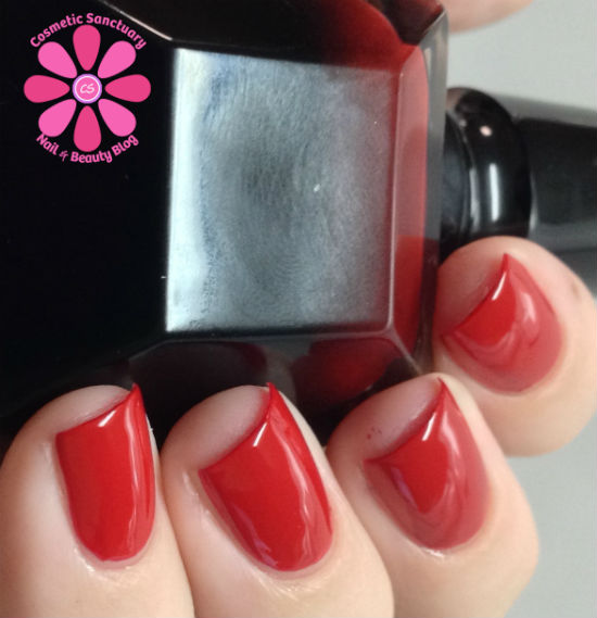 Rouge Louboutin Nail Polish Swatches & Review