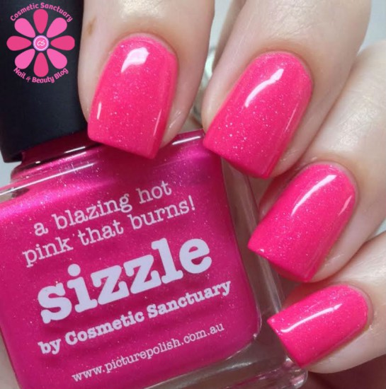 piCture pOlish Sizzle by Cosmetic Sanctuary