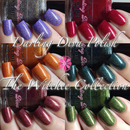 Darling Diva Polish WitchEE Collection Swatches & Review