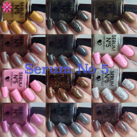Serum No 5 Fall 2014 Collection Releases Swatches & Review