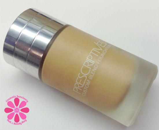 Prescriptives Custom Blend Foundation Review