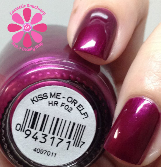 OPI Gwen Stefani Holiday 2014 Collection Swatches & Review ...