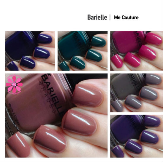 Barielle Me Couture Fall 2014 Collection Swatches & Review