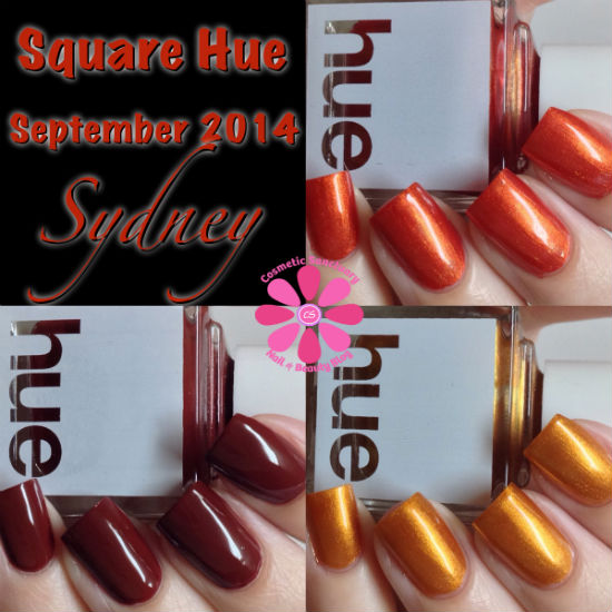 SQUARE HUE SEPTEMBER 2014 NAIL POLISH SUBSCRIPTION BOX REVIEW