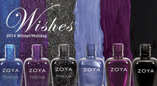 Zoya Wishes Collection for Holiday/Winter 2014 Press Release