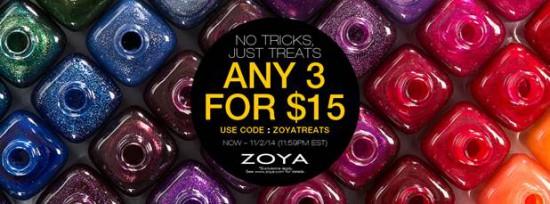 Zoya Halloween Promo – No Tricks, Just Treats!