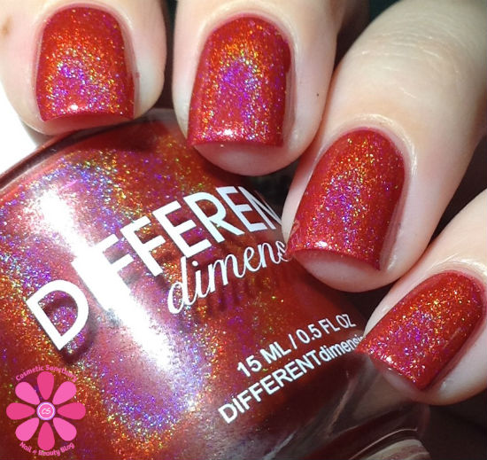DIFFERENT dimension Ho3 For December A Box Indied Swatch & Review