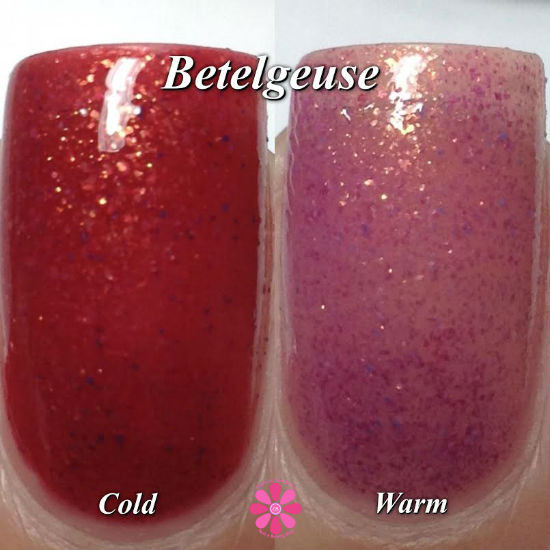 Betelgeuse side by side
