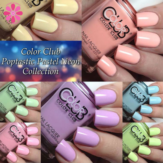 Color Club Poptastic Pastel Neon Collection Swatches & Review ...