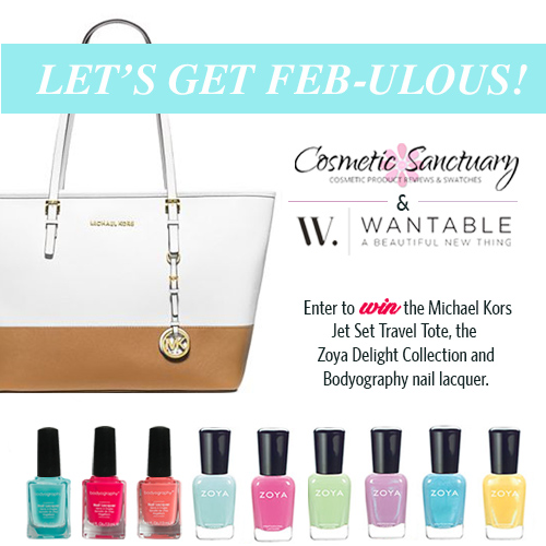 Let's Get FEB-ulous With Wantable & Cosmetic Sanctuary Giveaway