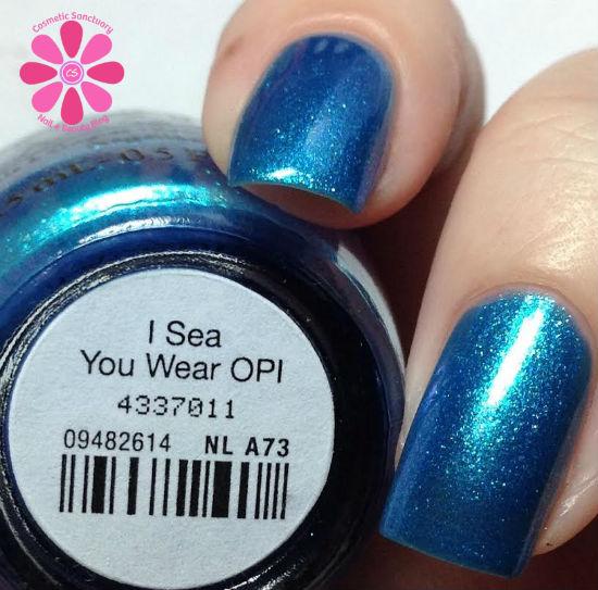 I Sea You Wear OPI CU