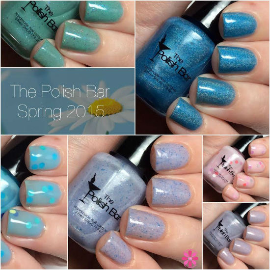 The Polish Bar Spring 2015 Collection Swatches & Review