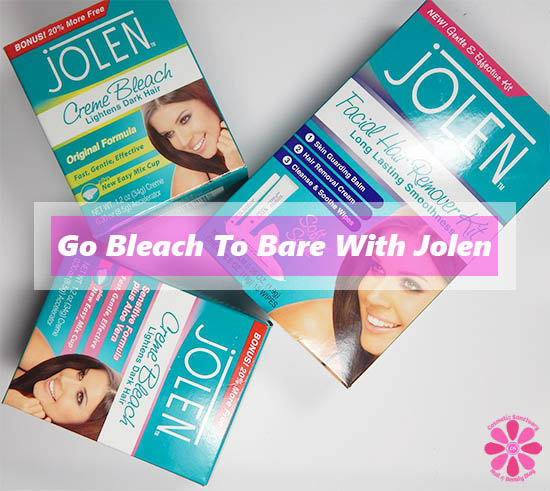 Get Summer Ready Go Bleach To Bare With Jolen Cosmetic Sanctuary