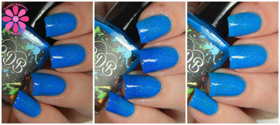 Bubbly Blue collage