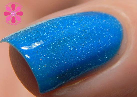 Bubbly Blue hot macro