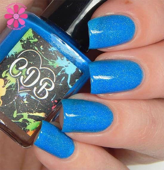 Bubbly Blue hot