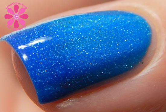 Bubbly Blue transition macro