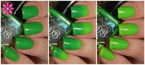 Gleeful Green collage