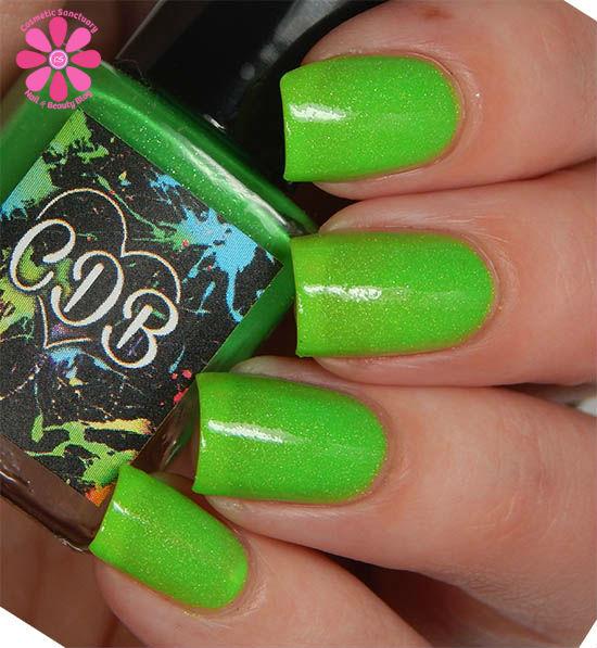 Gleeful Green hot