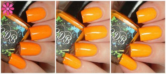Outgoing Orange Collage