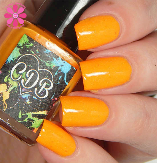 Outgoing Orange Hot