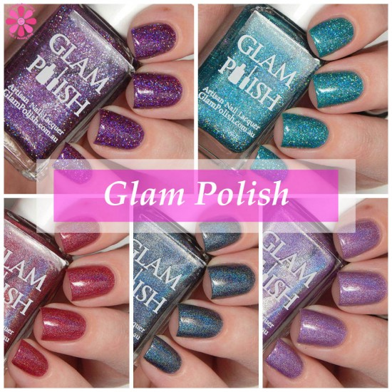 Glam Polish Knockout Collection Part 2 Partial Swatches & Review