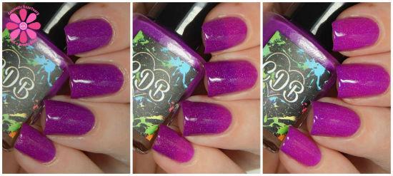Playful Purple Collage