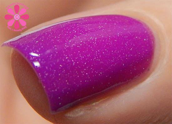 Playful Purple hot macro
