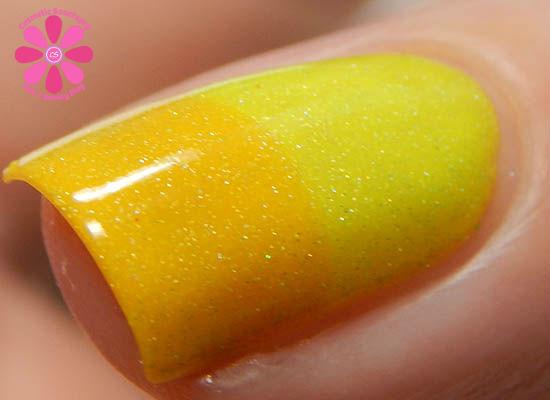Youthful Yellow transition macro