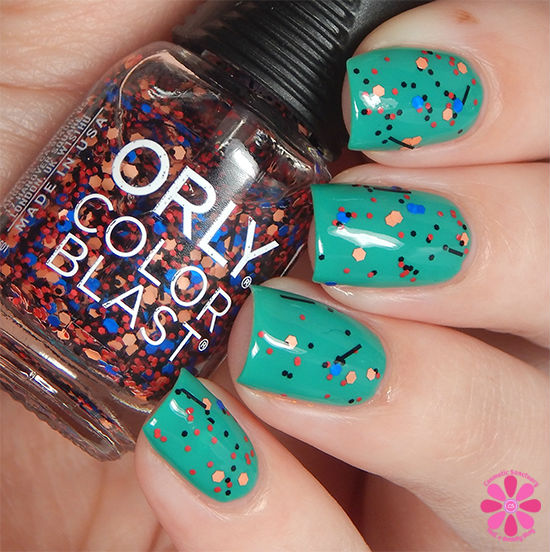 ORLY Color Blast Disney Pocahontas Collection Colors Of The Wind Swatch