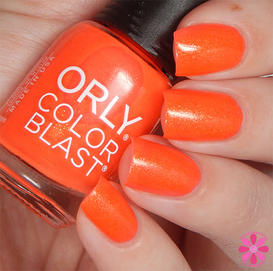 ORLY Color Blast Disney Pocahontas Collection Fly Like Flit Swatch
