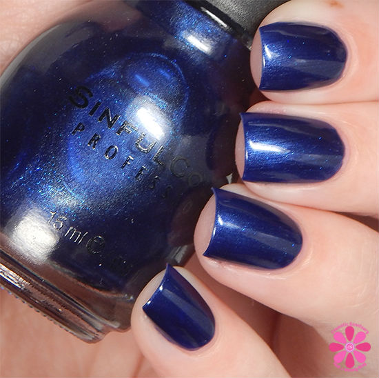 SinfulColors Having A Blast Collection Hot Spot Swatch