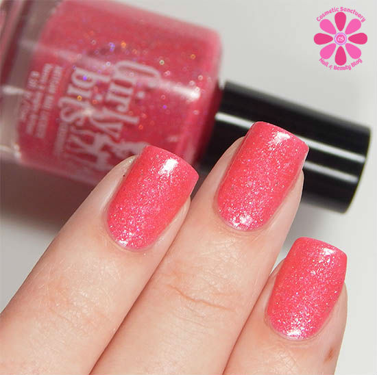 Girly Bits Julia Swatch, Review and The Story Behind The Polish