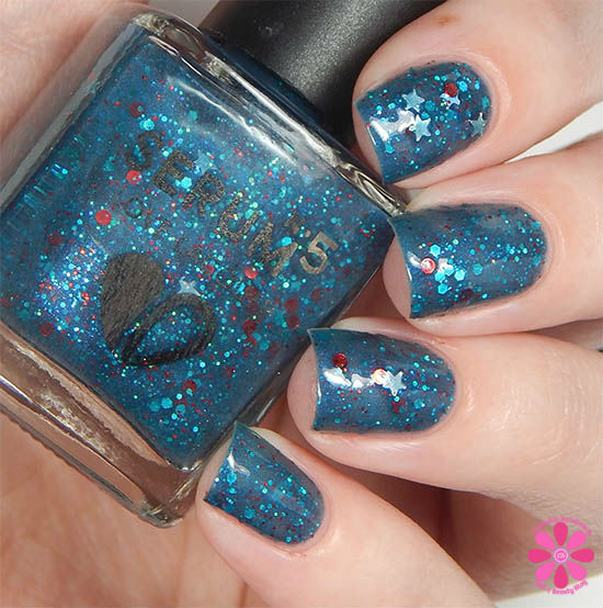 Serum No 5 One and Done July 2015 Swatch