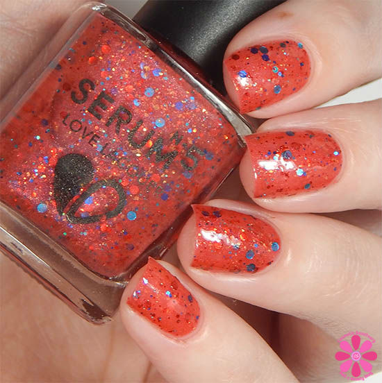 Serum No 5 One and Done June 2015 Swatch