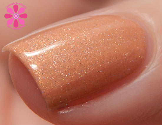 Addicted To Holos Philly Loves Lacquer June Bug Swatch macro