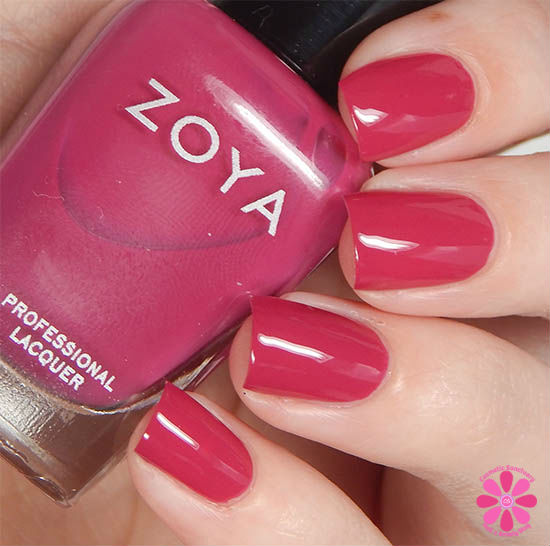 Zoya Nail Polish Island Fun Nana Swatch