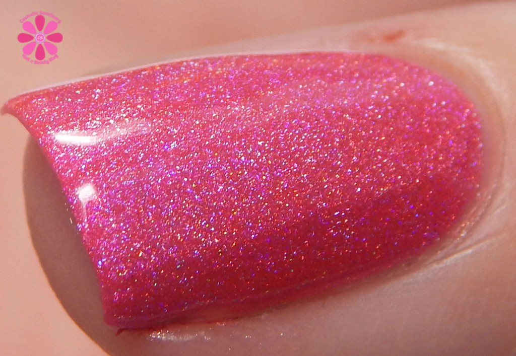 Cupcake Polish One Shell Of A Time For July 2015 A Box Indied Macro Swatch