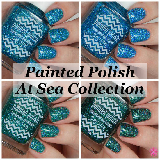 Painted Polish At Sea Collection Swatches & Review