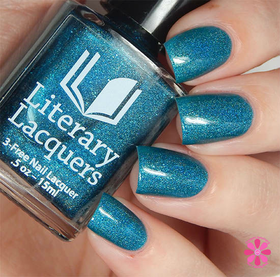 Addicted To Holos Literary Lacquers Salt & Sweetness Swatch